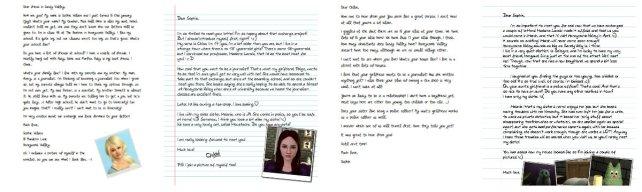 Sophie-Chloe letters