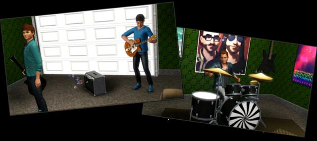 Boys jamming