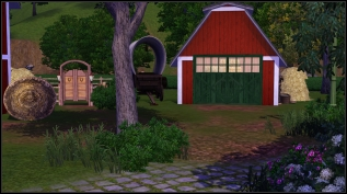 Shed (secretly the Equestrian Center rabbithole)