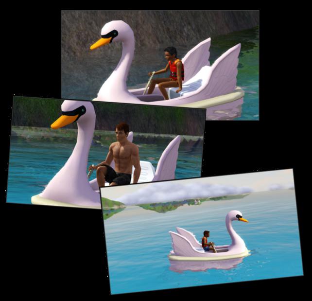 Peddleboats