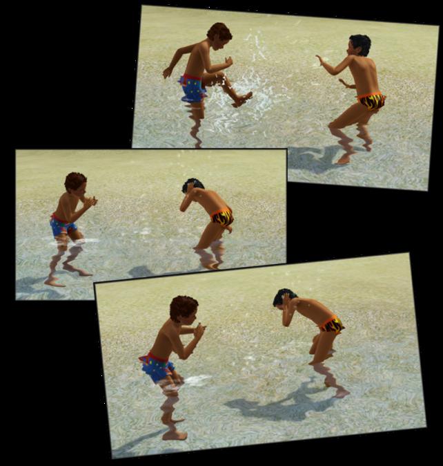 Play in ocean