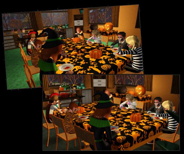Spooky dinner